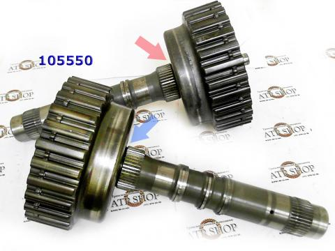 Барабан, Drum, 095/096/097/098 3-4 Clutch With Hollow Shaft (5 Clutch) под втулку (28Tx104) 1995-Up