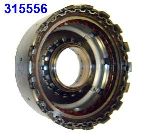 Барабан, Drum, W/Piston Reverse (16 Drive Lugs) (RE4F04A, RE4F04B, 4F20E) (Exc 3.5L) 1992-Up