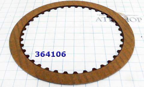 Фрикционный Диск, Direct/Forward Clutch [38Tx1,7x127] A4AF3/A4BF3 2000-up